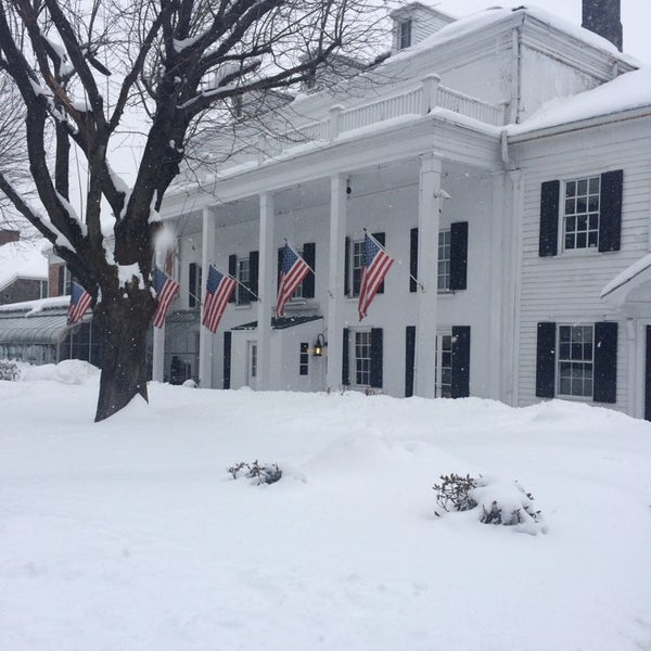 Photo taken at Beekman Arms-Delamater Inn by Courtney L. on 2/15/2014