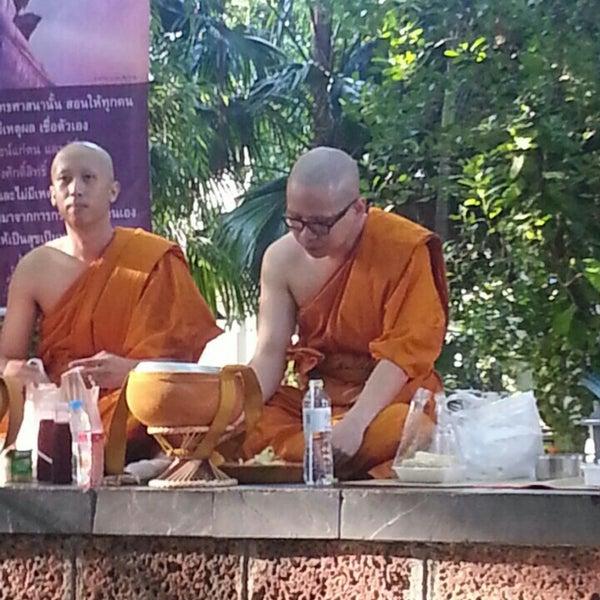 Photo taken at ลานใส่บาตร by Moo-Noi C. on 5/30/2015