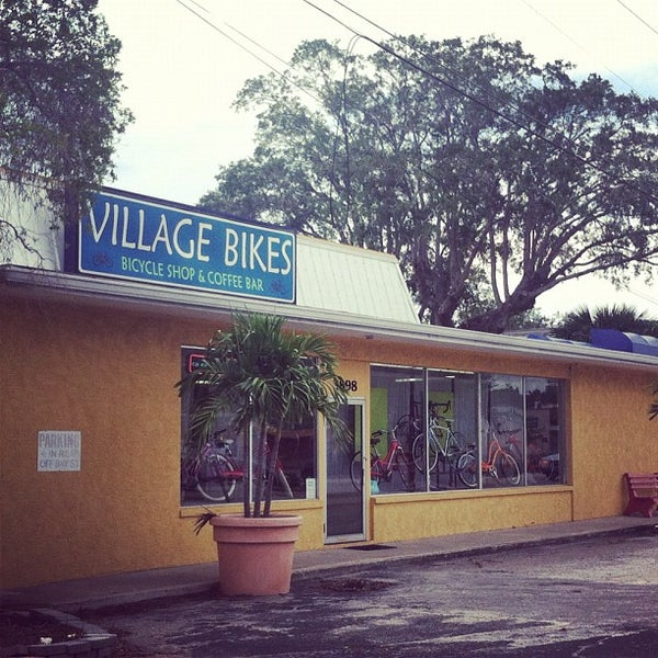 Photo taken at Village Bikes by Shannon M. on 10/8/2012