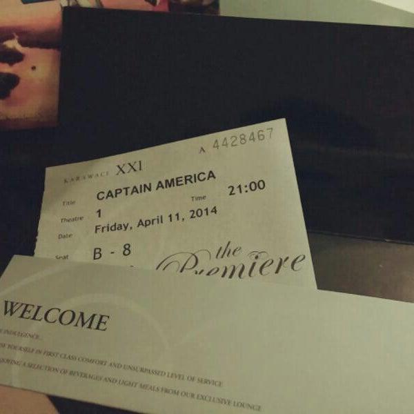Photo taken at Premiere Karawaci by Wonghae on 4/11/2014
