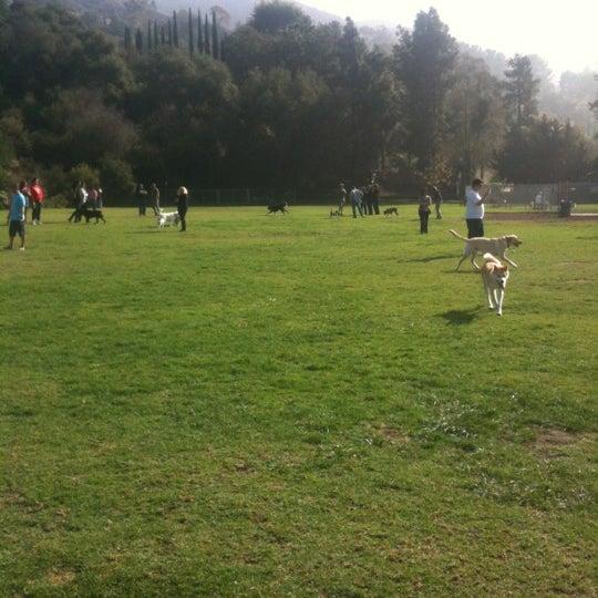 Photo taken at Laguna Canyon Dog Park by Don K. on 11/25/2012