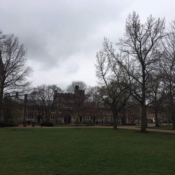Photo taken at Washington University by Christian T. on 3/28/2017