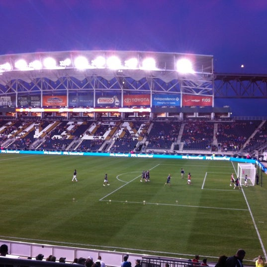 Photo taken at Talen Energy Stadium by Bilqis R. on 10/6/2012