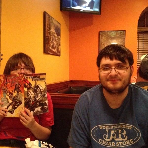 Photo taken at Elizabeth's Pizza by Lori R. on 10/5/2013