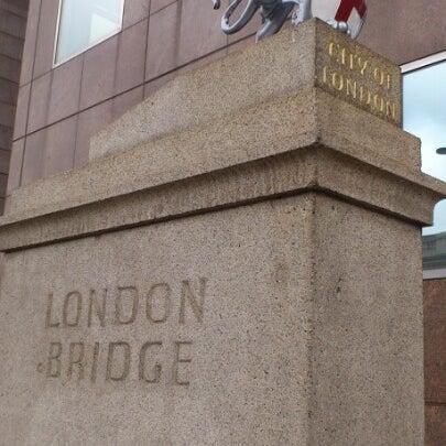 Photo taken at London Bridge by bc17ab on 10/1/2012