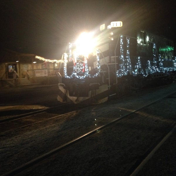 Photo taken at Great Smoky Mountain Railroad by Jacquie R. on 12/19/2014