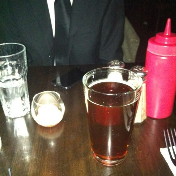 Photo taken at Amsterdam Ale House by Justin on 12/9/2013