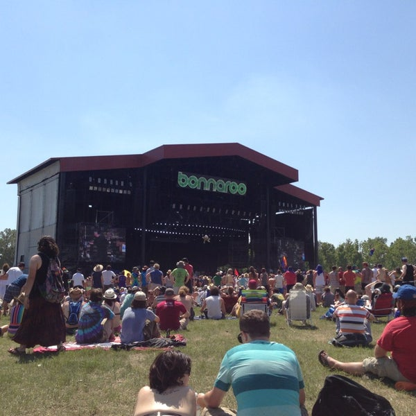 Photo taken at What Stage at Bonnaroo Music & Arts Festival by Scott H. on 6/15/2013