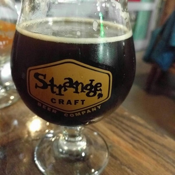 Photo taken at Strange Craft Beer Company by TJ H. on 10/19/2016
