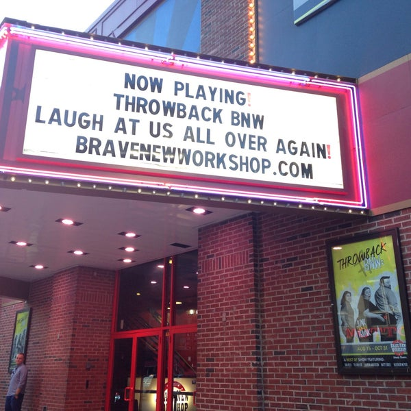 Photo taken at Brave New Workshop Comedy Theatre by Laura v. on 9/6/2015
