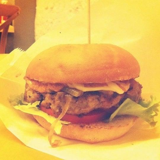 Photo taken at Biber Burger by Sedef G. on 12/14/2012