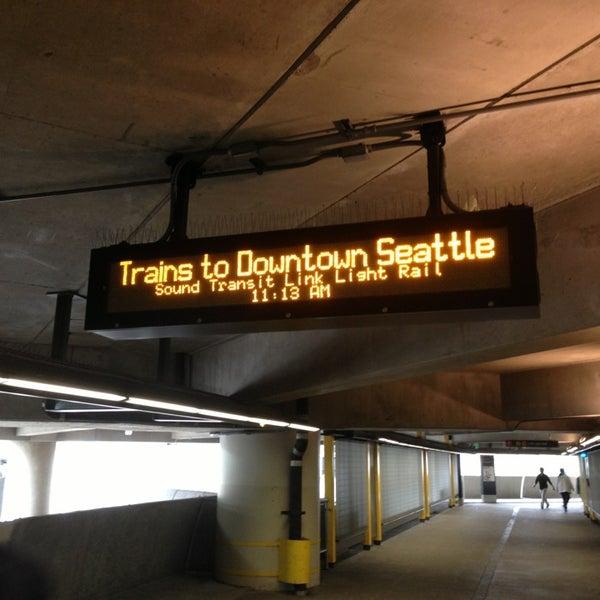 Photo taken at Sea-Tac Airport Parking Garage by Sean R. on 9/3/2013