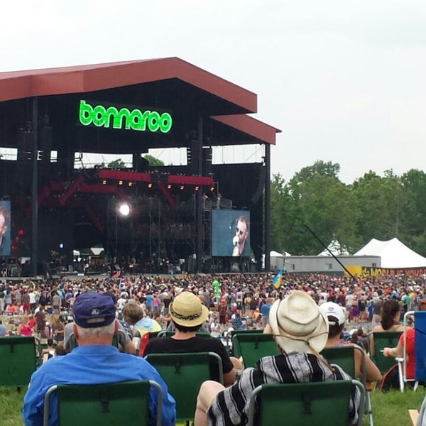 Photo taken at What Stage at Bonnaroo Music & Arts Festival by Matthew R. on 6/16/2013