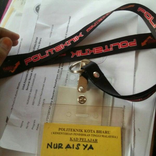 11/20/2016에 nuraisya .님이 Politeknik Kota Bharu (PKB)에서 찍은 사진