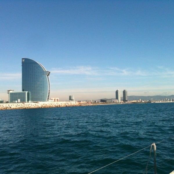Photo taken at OneOcean Port Vell Barcelona by Hobie Center Barcelona on 3/19/2013