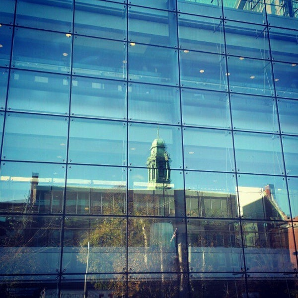 Photo taken at Harvard Medical School Quadrangle by Nick S. on 11/5/2012