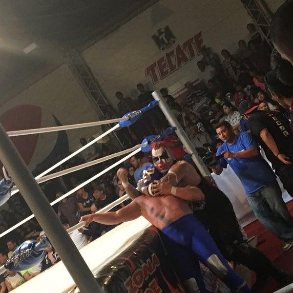 Photo taken at Arena Adolfo Lopez Mateos by RenÈ O. on 5/22/2016