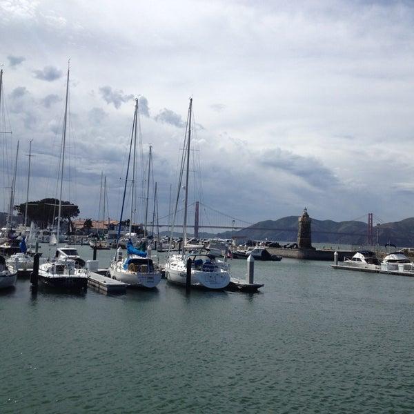 Photo taken at Golden Gate Yacht Club by Shweta R. on 3/30/2013