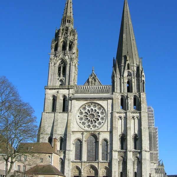 CHARTRES CATHEDRAL - World Heritage UNESCO Partly built starting in 1145, and reconstructed over a 26-year period after the fire of 1194, Chartres Cathedral marks the high point of French Gothic art.