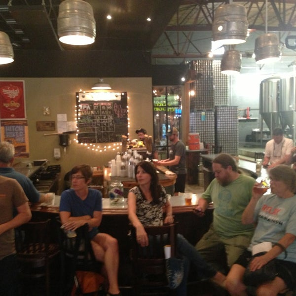 Photo taken at Good People Brewing Company by Deon G. on 4/17/2013