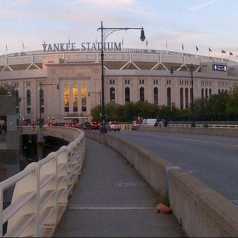 Photo taken at Yankee Stadium by Lindsay M. on 9/25/2013