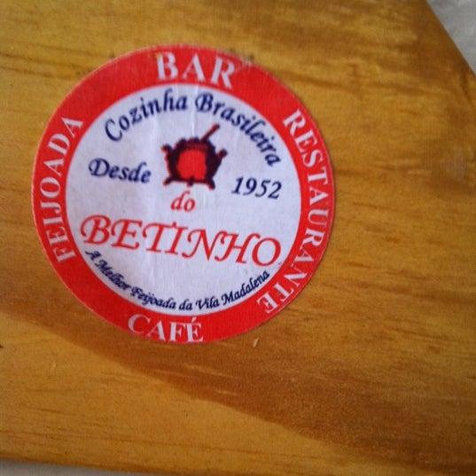 Foto tirada no(a) Bar do Betinho por ANTI em 4/8/2011