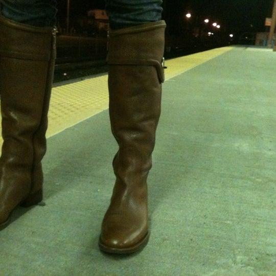 Photo taken at PATCO: Ashland Station by Garick G. on 12/10/2011