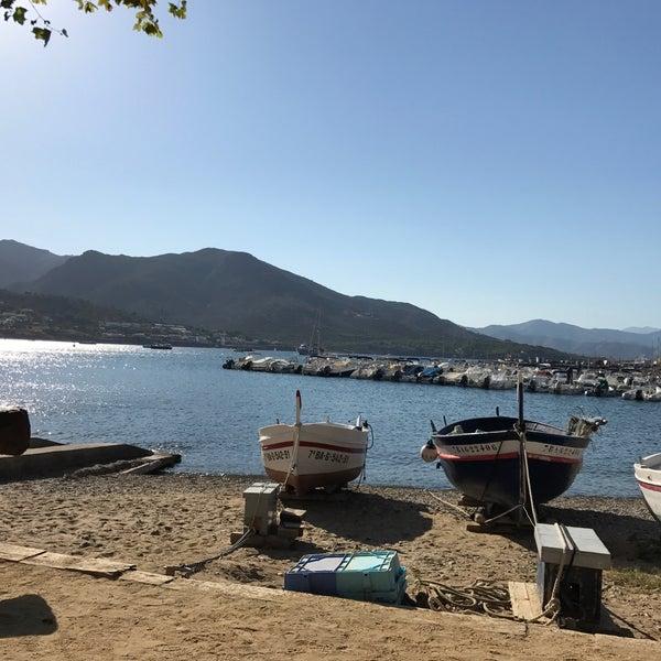 Photo taken at El Port de la Selva by Pepe on 8/22/2017