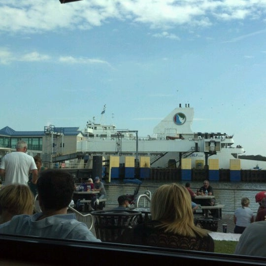 Photo taken at Cape May-Lewes Ferry | Cape May Terminal by Peggy B. on 10/6/2012