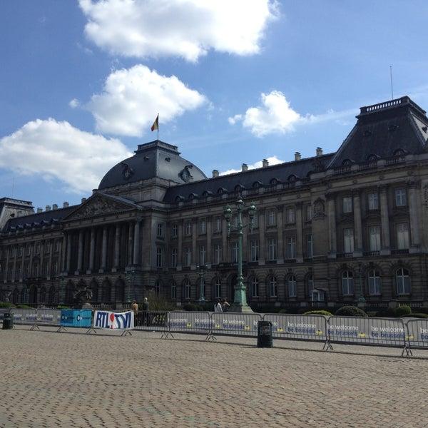 Photo taken at Paleizenplein / Place des Palais by Rafke M. on 5/5/2013