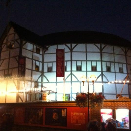 Photo taken at Shakespeare's Globe Theatre by Matthew R. on 10/2/2012