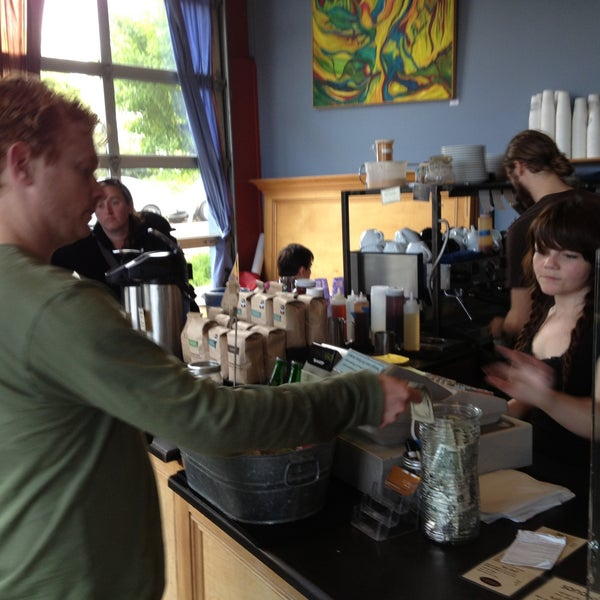 Photo taken at Crema Bakery and Cafe by David M. on 4/30/2013