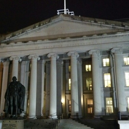 Photo taken at US Department of the Treasury by Konstantin V. on 10/15/2012