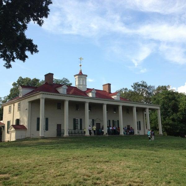 Photo taken at George Washington's Mount Vernon by Jonathan B. on 9/2/2013