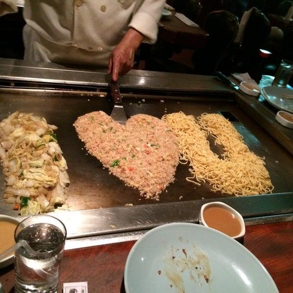 Photo taken at Mt. Fuji Japanese Steak House by John S. on 5/29/2014
