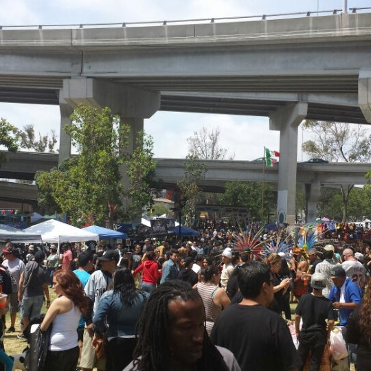Photo taken at Chicano Park by Frankie F. on 4/19/2014
