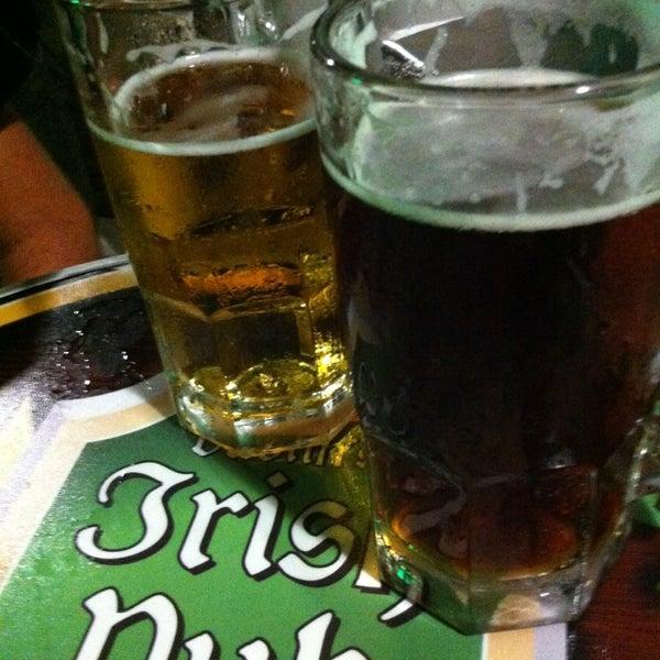 Photo taken at Dublin's Irish Pub by Alejandro A. on 2/23/2013