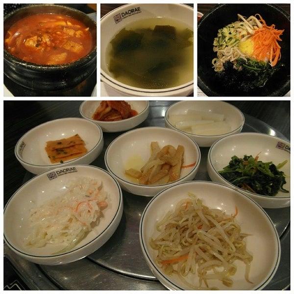 Photo taken at Daorae Korean BBQ Restaurant by Ron P. on 3/15/2014