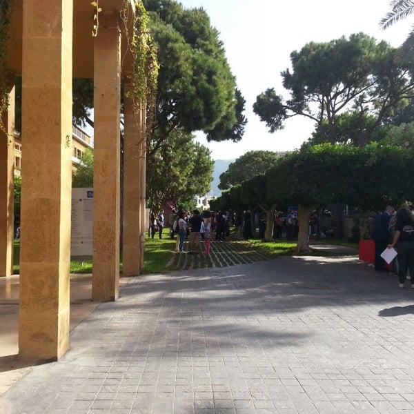 Photo taken at Holy Spirit University Of Kaslik by Ray C. on 9/27/2014