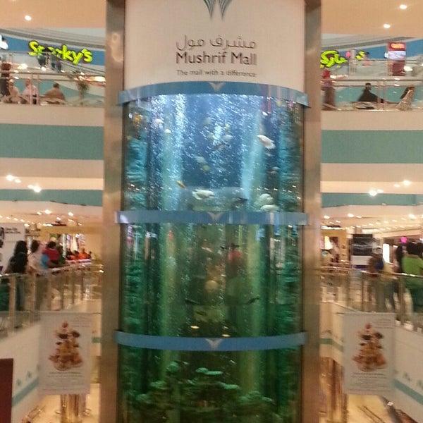 Photo taken at Mushrif Mall by Fatima A. on 3/29/2013