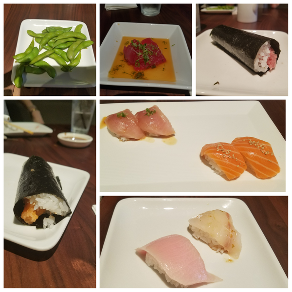 """I usually get the """"trust me."""" It's a great value for the amount and quality of sushi. I was so excited when I heard sugar fish was coming to nyc. I wish they would open more locations in Manhattan."""