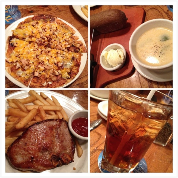 Photo taken at Outback Steakhouse by Stella C. on 1/12/2013