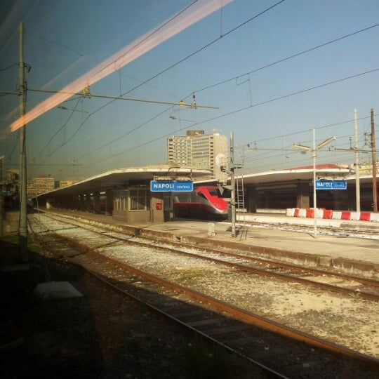 Photo taken at Napoli Centrale Railway Station (INP) by Davide B. on 9/24/2012