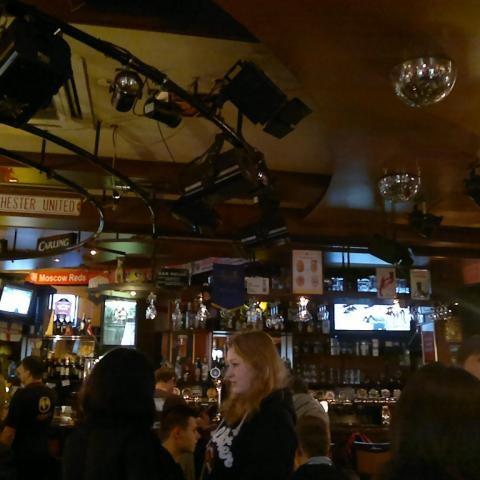 Снимок сделан в Bobby Dazzler Pub пользователем Anait A. 9/23/2012