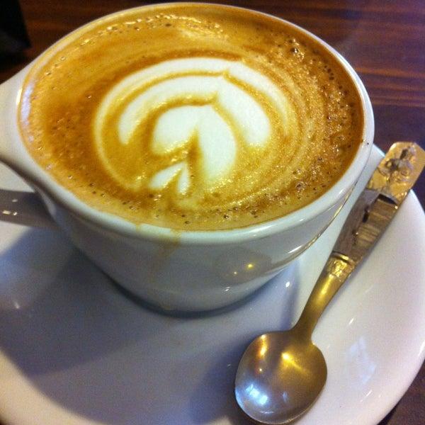 Photo taken at Stanza Coffee Bar by Jordain K. on 7/5/2013