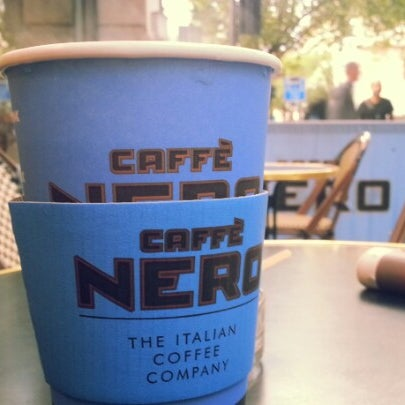 Photo taken at Caffè Nero by Ben A. on 9/19/2012