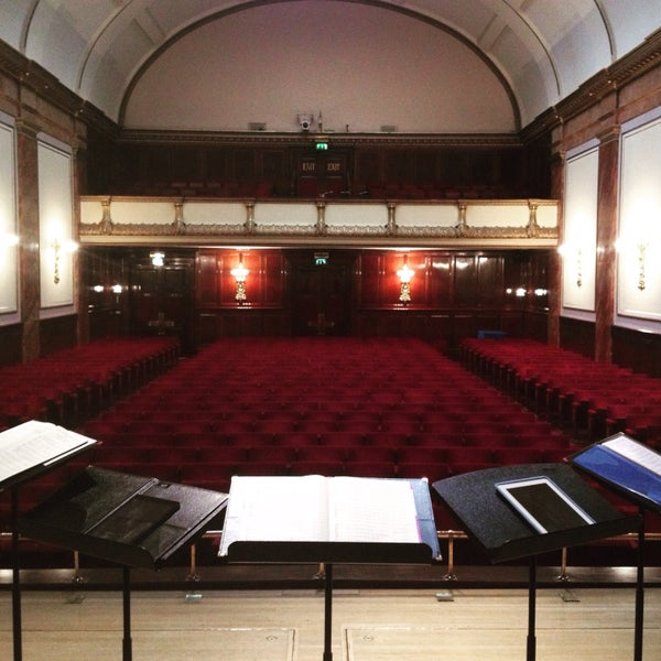 Photo taken at Wigmore Hall by Dingle Y. on 7/5/2015
