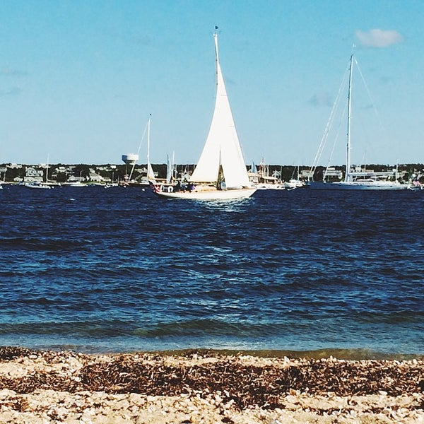 Photo taken at Nantucket Boat Basin by Gastro C. on 8/24/2014