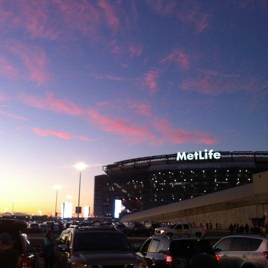 Photo taken at MetLife Stadium by Eric O. on 9/19/2012