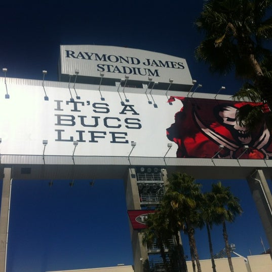 Photo taken at Raymond James Stadium by Christopher B. on 11/25/2012